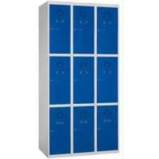 Taquilla metálica 9 puertas 3 columnas